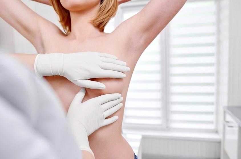 Сүт безі маммологымен кеуде қуысын инспекциялау