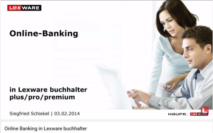 Lexware Online Banking einrichten ab 2014