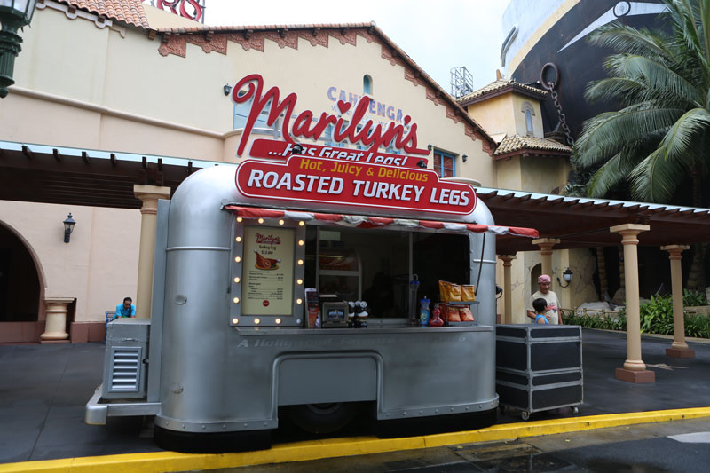 Universal studios singapore food kiosks themes