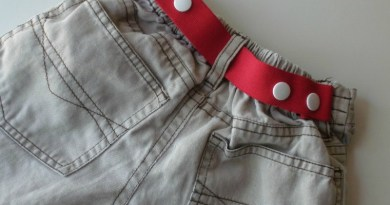 How to make a toddler snap belt