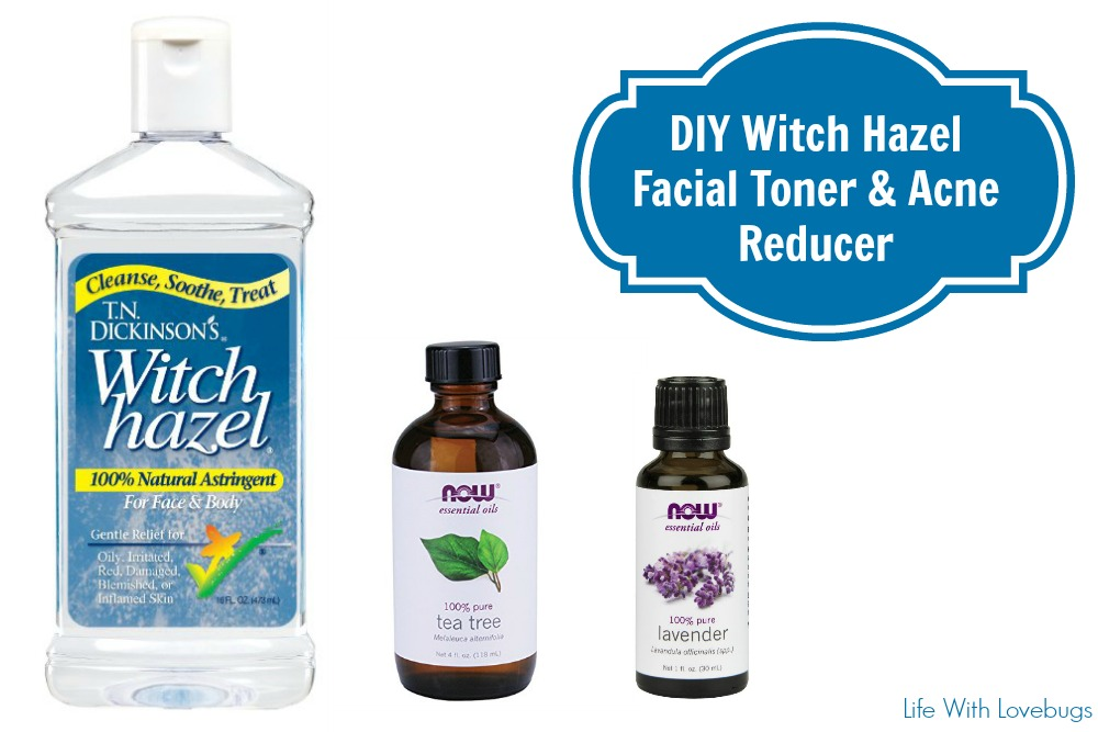 Witch hazel facial toner — 6