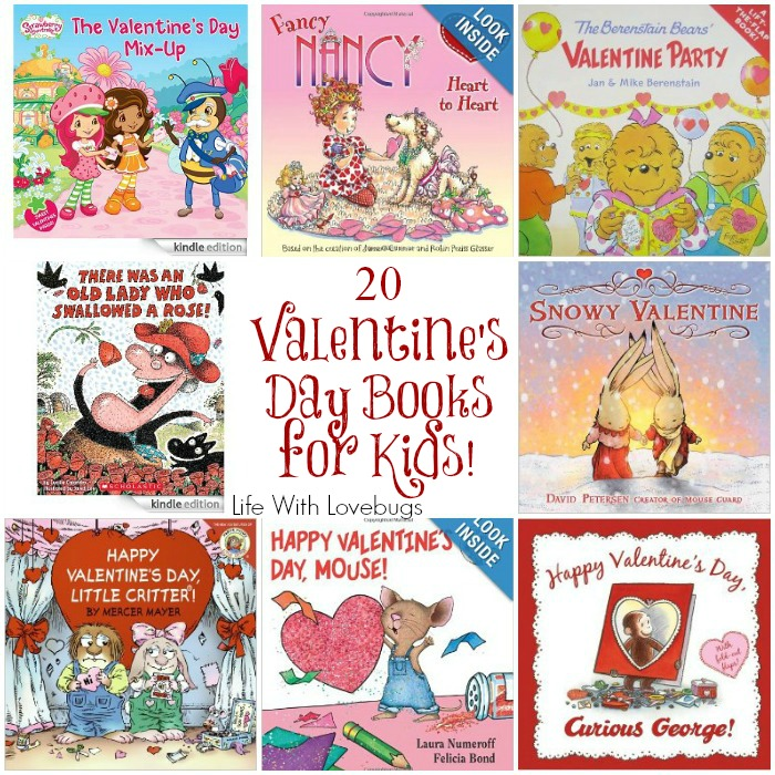 20 valentine's day books for kids - life with lovebugs, Ideas