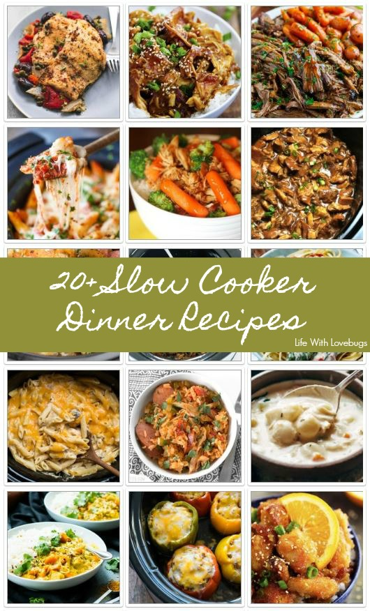 20+ Slow Cooker Dinners