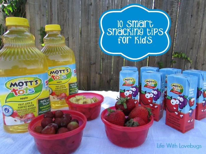 10 Smart Snacking Tips for Kids