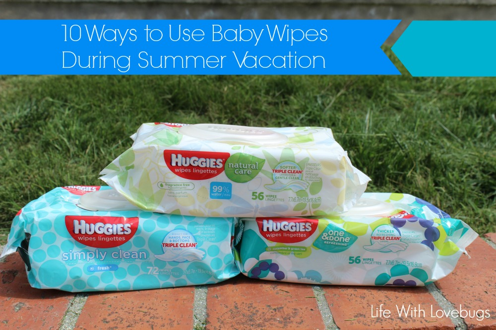 10 Ways to Use Baby Wipes