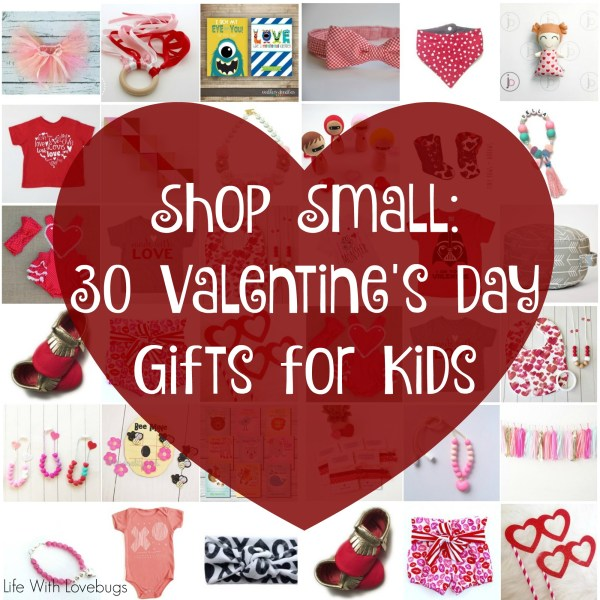 shop small: 30 valentines day gifts for kids - life with lovebugs, Ideas