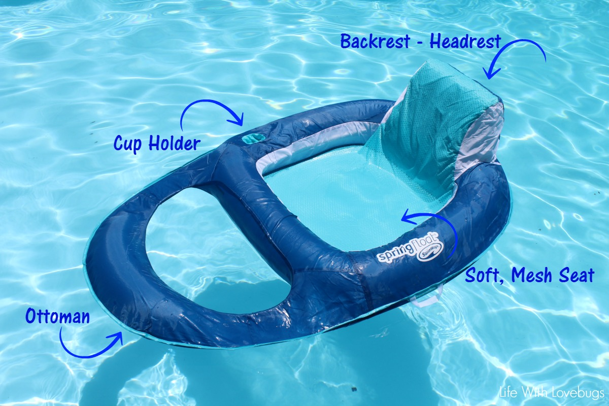 SwimWays Spring Float Recliner & SwimWays Spring Float Recliner - A Summer Must Have! - Life With ... islam-shia.org