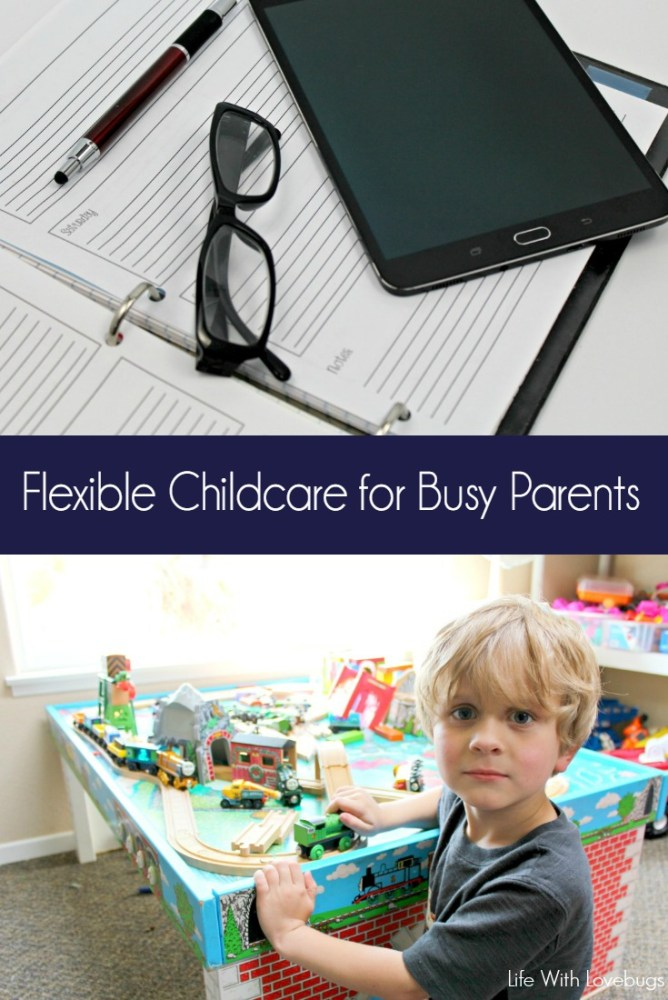 Flexible Childcare for Busy Parents
