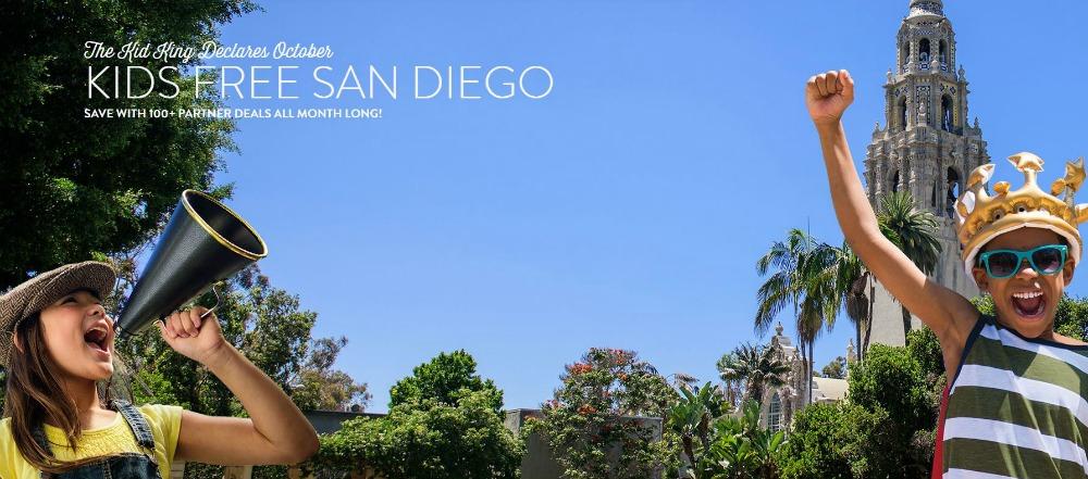 Kids Free San Diego - Over 100 Deals In October