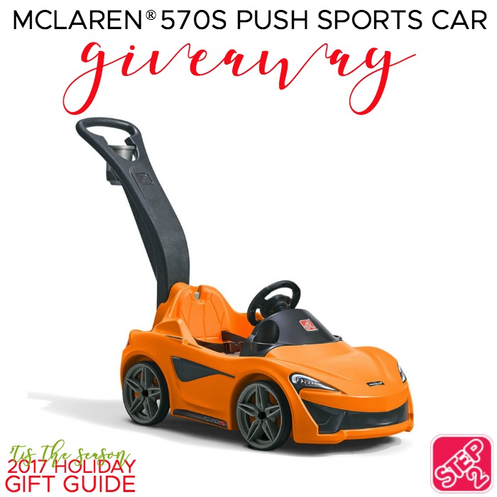Step2 McLaren Push Car Giveaway