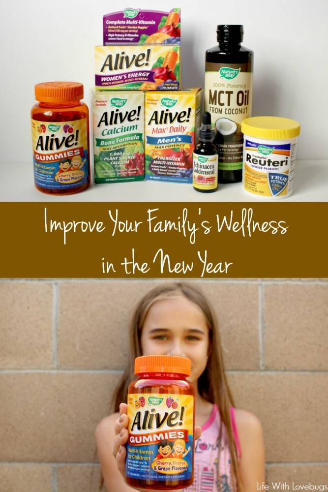 Improve Your Family's Wellness in the New Year
