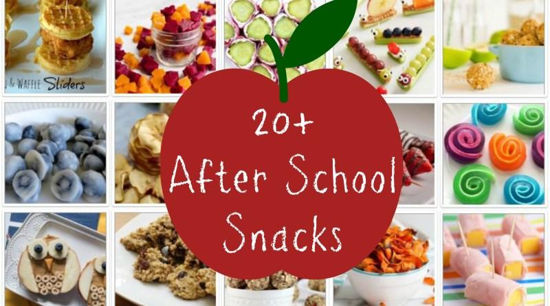 20+ After School Snacks