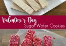 Valentines Day Sugar Wafer Cookies