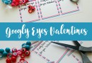 Googly Eyes Valentines with Printable Cards
