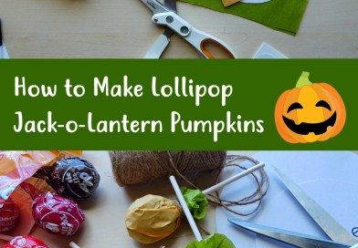 Easy Craft: How to Make Jack-o-Lantern Pumpkin Lollipops