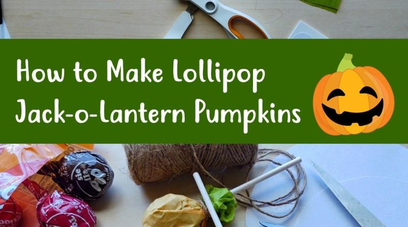 Easy Craft: How to Make Jack-o-Lantern Pumpkin Lollipops