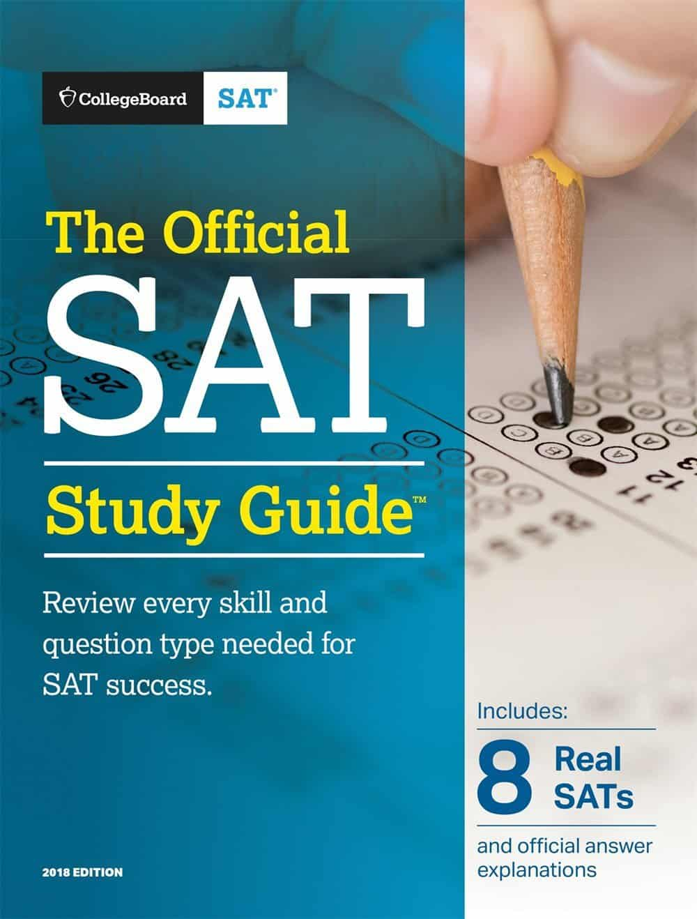 The Official SAT Study Guide, 2018 Edition - Review • Love the SAT ...