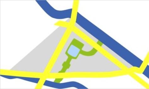 Die Luisenstadt als symbolischer Stadtplan