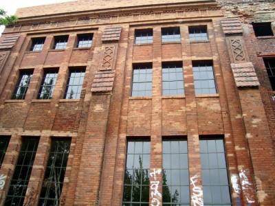 Eisfabrik Fassade
