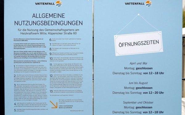 """Vattenfall befiehlt: """"Pflanz was!"""" – Nutzen Luisenstädter diesen Gemeinschaftsgarten gegenüber?"""