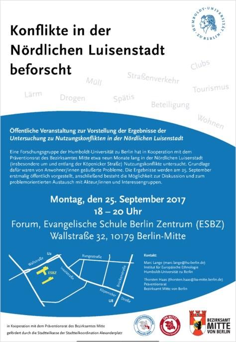 Einladung zur Bürgerversammlung mit Präsentation und Diskussion