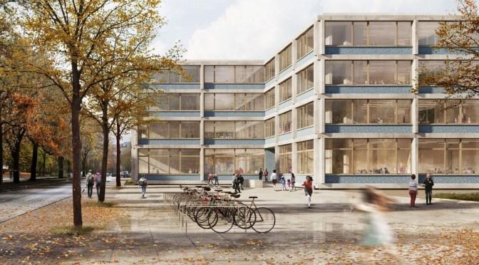 Alte und neue Schule Adalbertstraße 53: Baumaßnahmen bis 2024