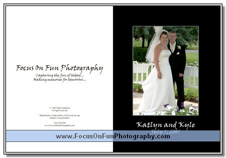 Katlyn and Kyle's Wedding Book
