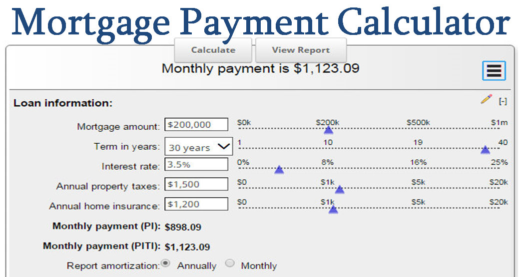 Mortgage Payment Calculator  Calculate Your Ideal Payment