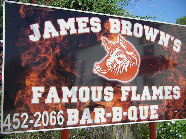amazing bbq in US: James Brown's BBQ, Avon Park