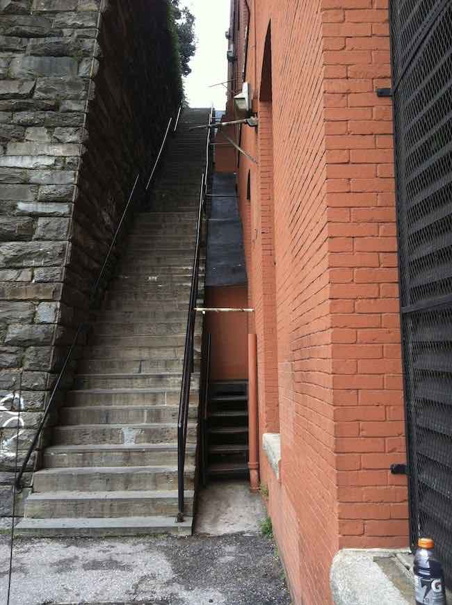 climb The Exorcist Stairs in Washington DC
