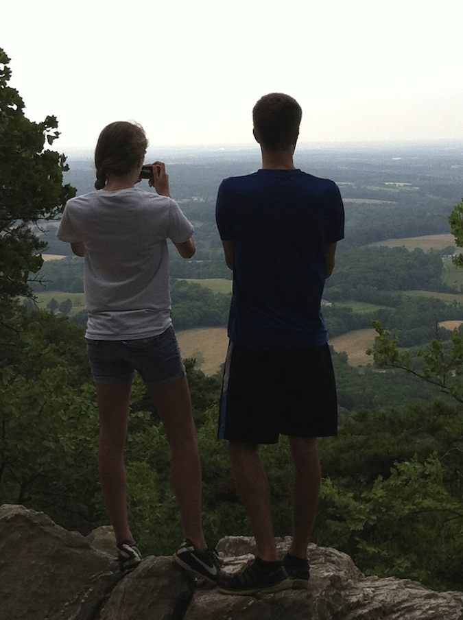 amazing views from Sugarloaf Mountain near Washington DC