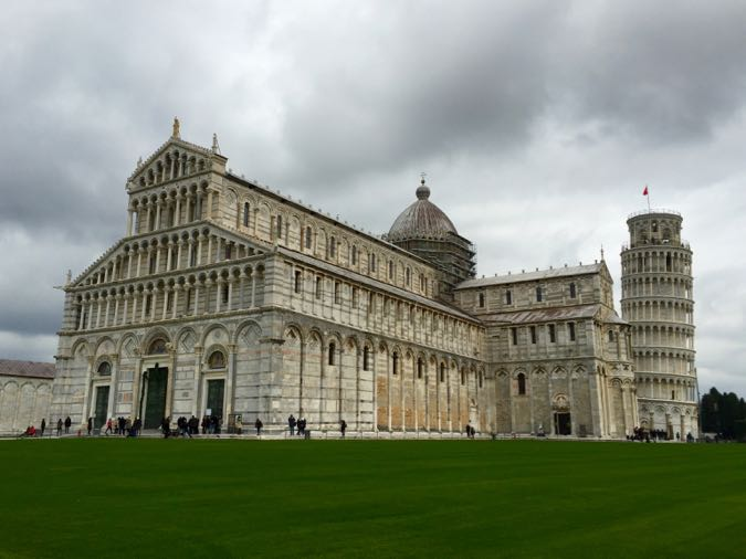 Piazza del Duomo, Pisa, on the complimentary Viking Cruises excursion