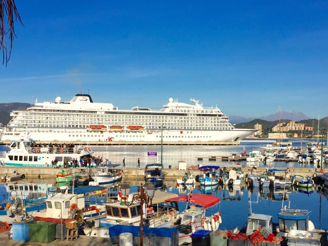 Viking Star, Port of Ajaccio Corsica, Viking Cruises