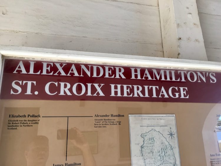 things to do in St. Croix: Alexander Hamilton istory