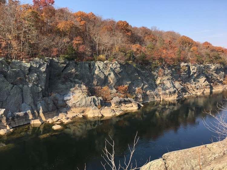 Great Falls Maryland is a fun hike near Washington DC