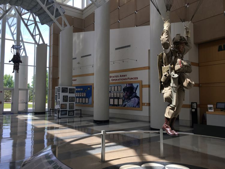 fun things to do in Fayetteville NC. Airborne and Special Ops Museum. Article and photo by Charles McCool for McCool Travel.