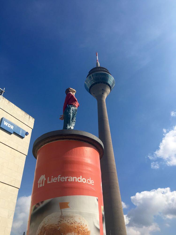 Dusseldorf Rheinturm Rhine Tower