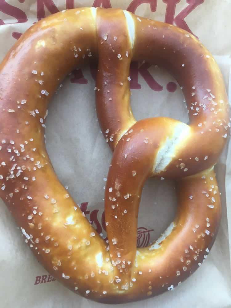 Dusseldorf pretzel