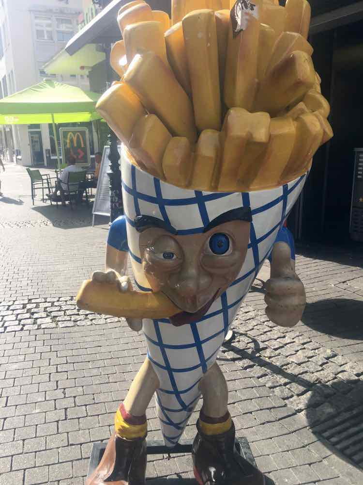 Fries in Dusseldorf