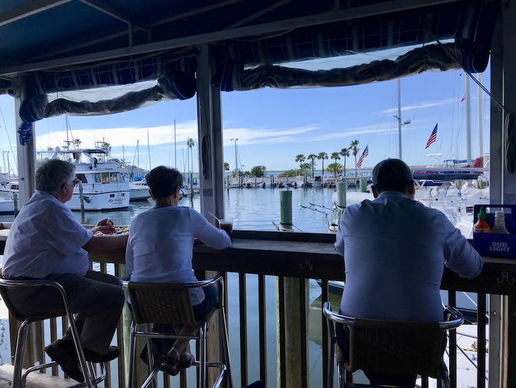 Olde Bay Cafe in Dunedin Florida