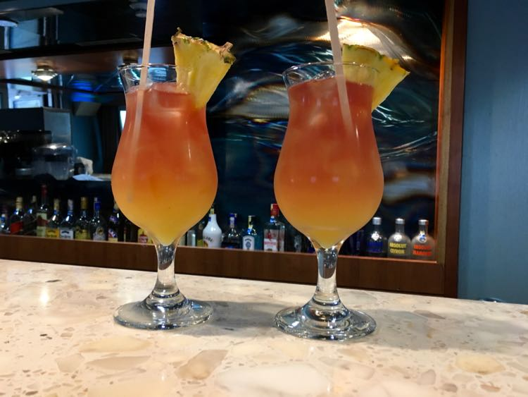 free drinks on Celebrity Cruises in Galapagos