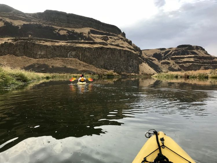 Kayaking the Palouse River with UnCruise Adventures