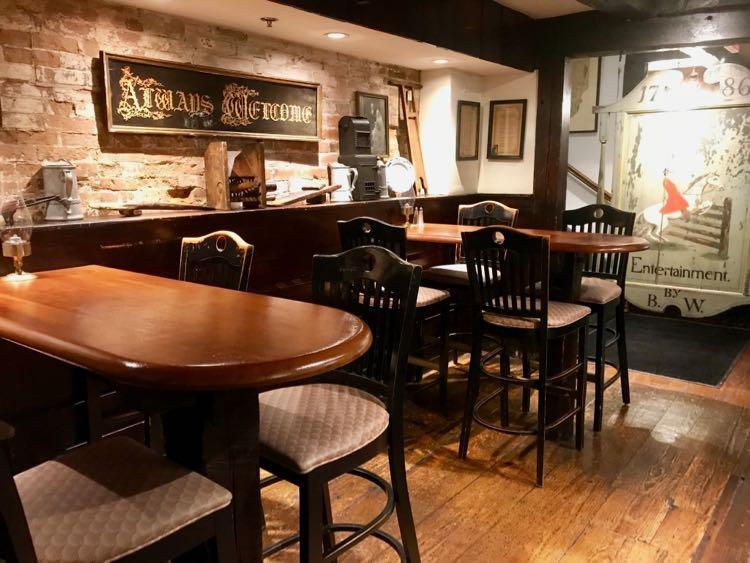 Historic Wiggins Tavern in the Hotel Northampton