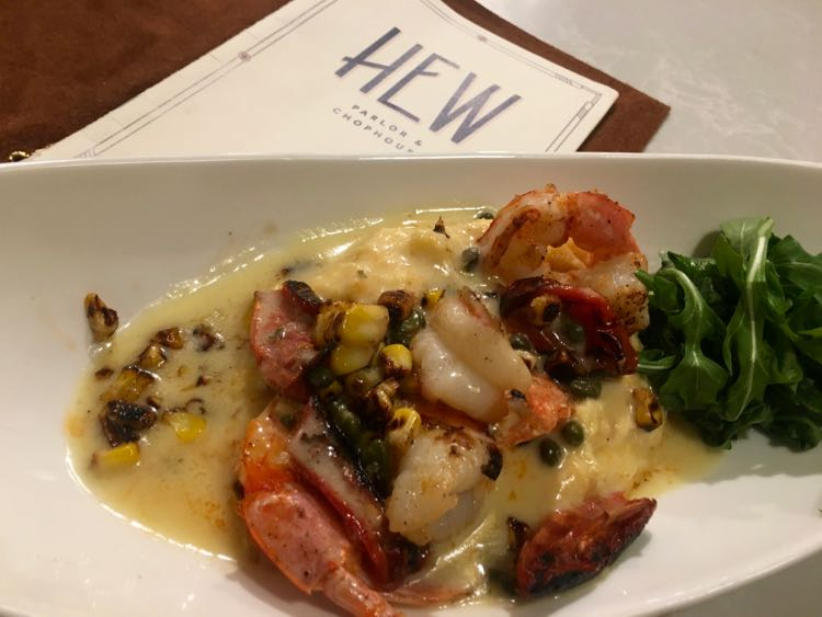 shrimp at HEW Chophouse at Fenway Dunedin