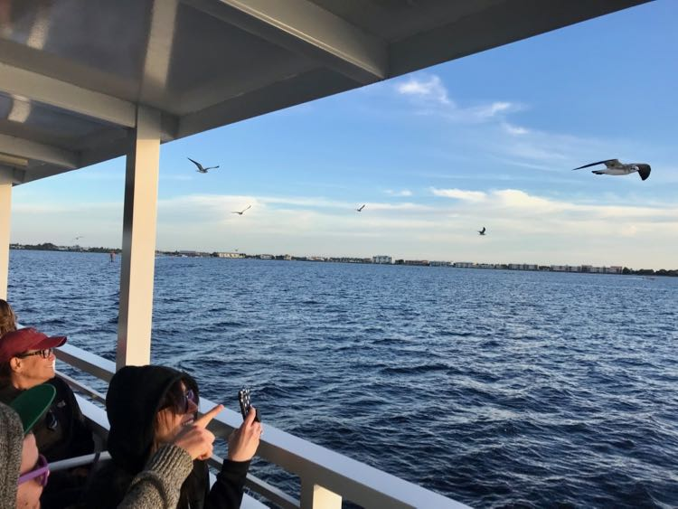 Take a sunset cruise with King Fisher Fleet from Fishermen's Village