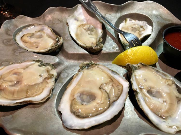 Murder Point Oysters at Salt in Orange Beach