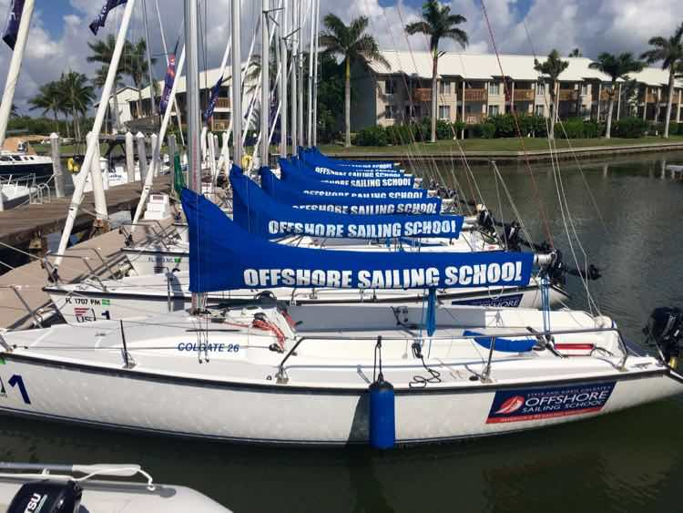 Offshore Sailing School at South Seas Island Resort