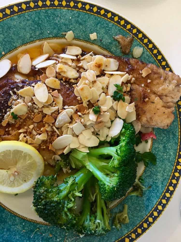 catfish at Ormond Plantation Restaurant