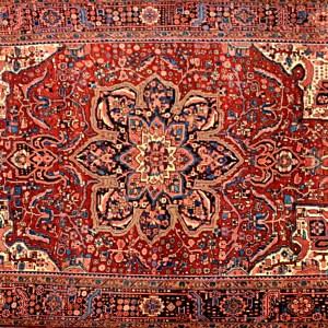 151 10.1x13.9 Persian Heriz Rug