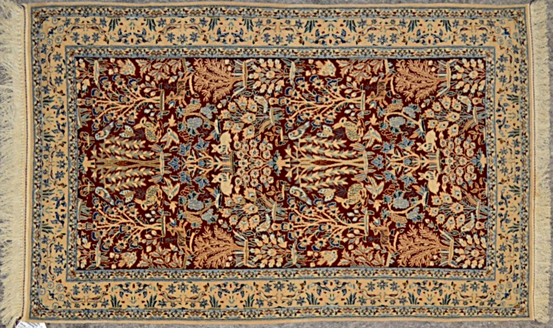 2.8×4.4 Persian Nain Area Rug